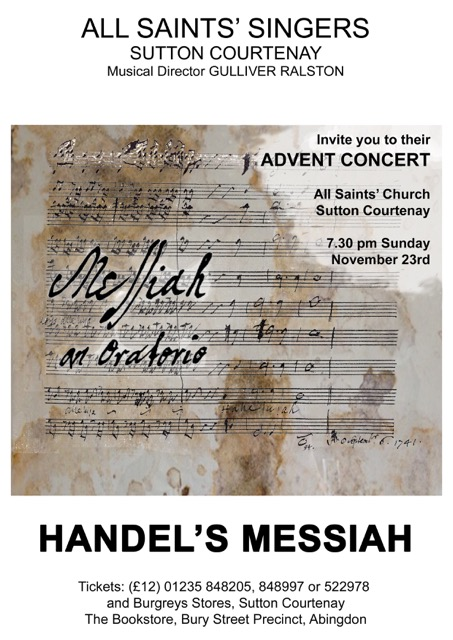Advent 2014 (Messiah)