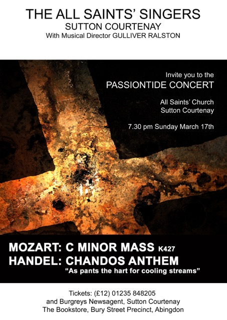 Passiontide (Mozart C Minor Mass)
